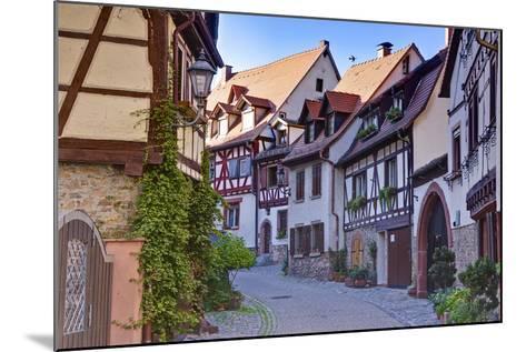 Germany, Baden Wurttemberg, Odenwald (Region), Bergstra?e (Region), Weinheim (Town-Udo Siebig-Mounted Photographic Print
