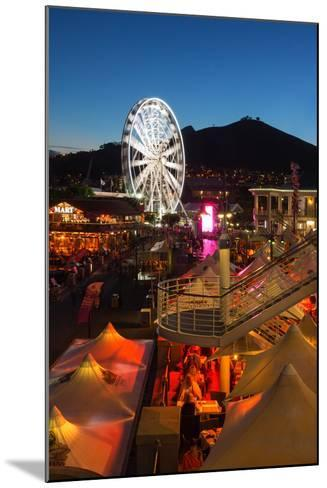 South Africa, Cape Town, V and a Waterfront, Evening-Catharina Lux-Mounted Photographic Print
