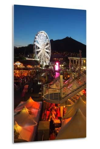 South Africa, Cape Town, V and a Waterfront, Evening-Catharina Lux-Metal Print