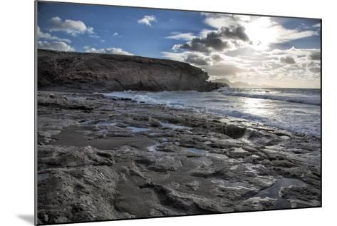 Spain, Canary Islands, Fuerteventura, Beach, Sea-Andrea Haase-Mounted Photographic Print