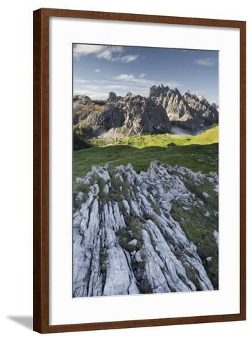 Cadini Di Misurina, Veneto, Italy-Rainer Mirau-Framed Art Print