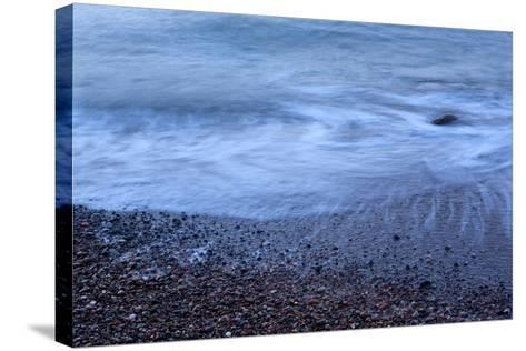 The Baltic Sea, R?gen, North Beach, Evening-Catharina Lux-Stretched Canvas Print