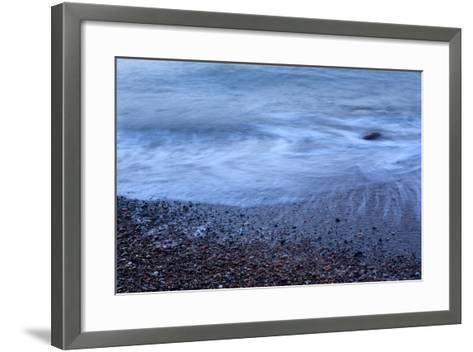 The Baltic Sea, R?gen, North Beach, Evening-Catharina Lux-Framed Art Print