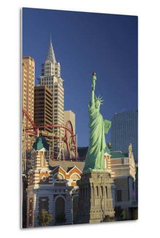 New York New York Hotel, the Statue of Liberty, Strip, Las Vegas, Nevada, Usa-Rainer Mirau-Metal Print