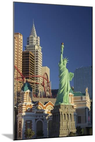 New York New York Hotel, the Statue of Liberty, Strip, Las Vegas, Nevada, Usa-Rainer Mirau-Mounted Photographic Print