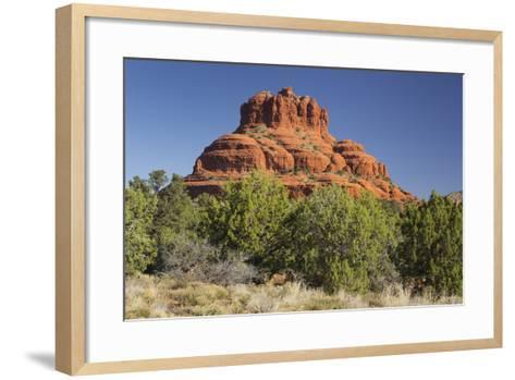 Bell Rock, Sedona, Arizona, Usa-Rainer Mirau-Framed Art Print
