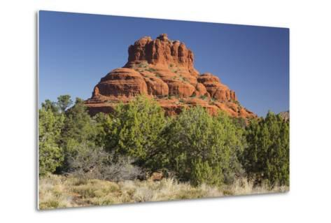 Bell Rock, Sedona, Arizona, Usa-Rainer Mirau-Metal Print