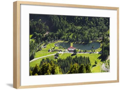 Bathing Lake WaldhŠuslalm, Untertalbach, Niedere Tauern, Styria, Austria-Rainer Mirau-Framed Art Print