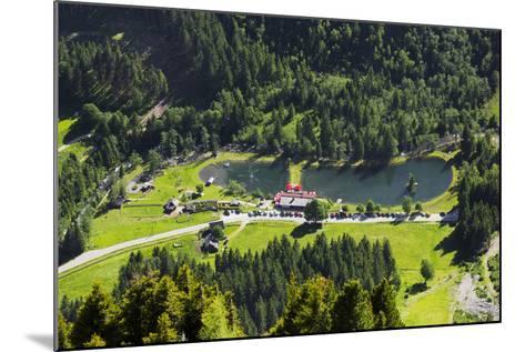 Bathing Lake WaldhŠuslalm, Untertalbach, Niedere Tauern, Styria, Austria-Rainer Mirau-Mounted Photographic Print