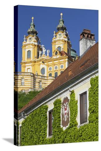 Austria, Lower Austria, Benediktinerkloster Stift Melk (Cloister)-Rainer Mirau-Stretched Canvas Print