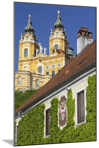 Austria, Lower Austria, Benediktinerkloster Stift Melk (Cloister)-Rainer Mirau-Mounted Photographic Print