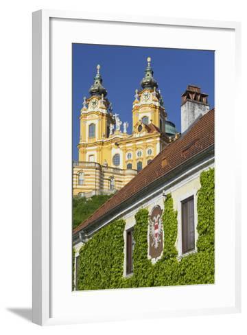 Austria, Lower Austria, Benediktinerkloster Stift Melk (Cloister)-Rainer Mirau-Framed Art Print