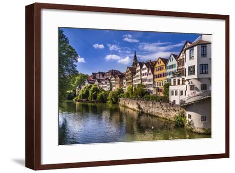 Germany, Baden-Wurttemberg, T?bingen-Udo Siebig-Framed Art Print
