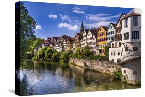 Germany, Baden-Wurttemberg, T?bingen-Udo Siebig-Stretched Canvas Print