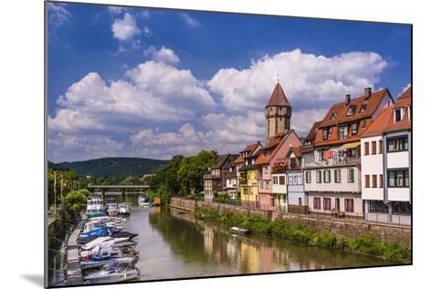 Germany, Baden-WŸrttemberg, Main-Tauber-Region, Wertheim, Tauberufer-Udo Siebig-Mounted Photographic Print