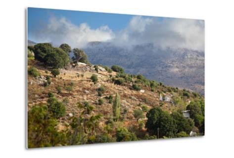 Greece, Crete, Landscape in the Dikti Mountains-Catharina Lux-Metal Print