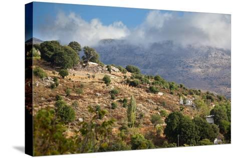 Greece, Crete, Landscape in the Dikti Mountains-Catharina Lux-Stretched Canvas Print