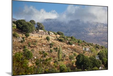 Greece, Crete, Landscape in the Dikti Mountains-Catharina Lux-Mounted Photographic Print