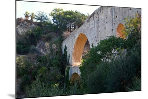 Greece, Crete, Aqueduct Near Knossos-Catharina Lux-Mounted Photographic Print