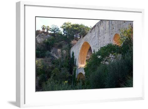 Greece, Crete, Aqueduct Near Knossos-Catharina Lux-Framed Art Print