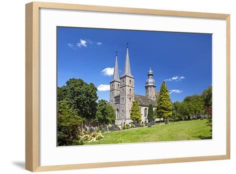 Germany, Easter Westphalia, Abbey MarienmŸnster-Chris Seba-Framed Art Print