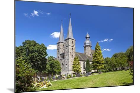 Germany, Easter Westphalia, Abbey MarienmŸnster-Chris Seba-Mounted Photographic Print