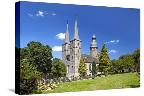 Germany, Easter Westphalia, Abbey MarienmŸnster-Chris Seba-Stretched Canvas Print