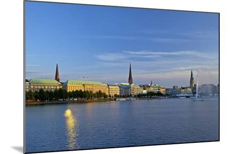 Germany, Hamburg, the Inner Alster-Chris Seba-Mounted Photographic Print