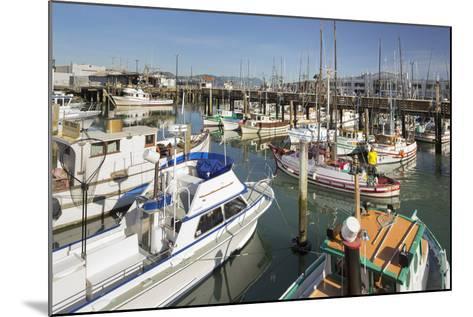 Boats at the Pier 39, San Francisco, California, Usa-Rainer Mirau-Mounted Photographic Print