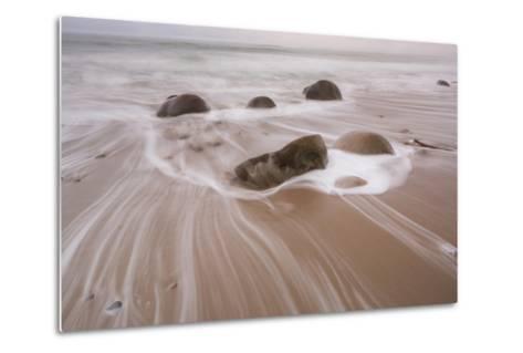 Bowling Ball Beach, California, Usa-Rainer Mirau-Metal Print