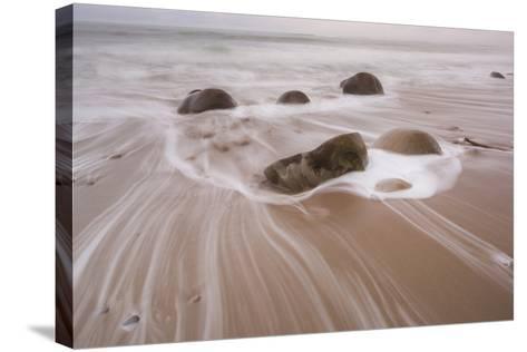 Bowling Ball Beach, California, Usa-Rainer Mirau-Stretched Canvas Print