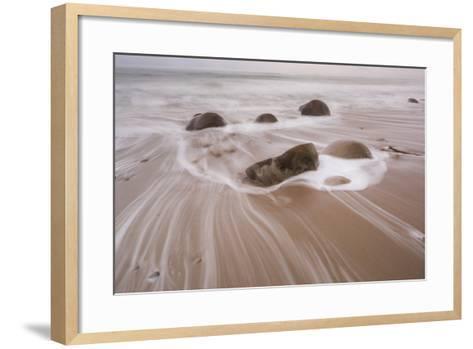 Bowling Ball Beach, California, Usa-Rainer Mirau-Framed Art Print
