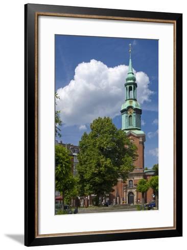 Europe, Germany, Hanseatic Town, Hamburg, St. Georg Kirchhof-Chris Seba-Framed Art Print