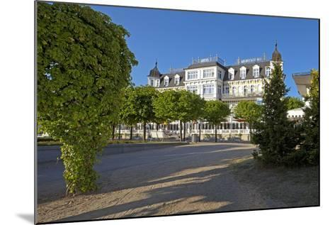 Germany, Western Pomerania, Island Usedom, Seaside Resort Ahlbeck, Luxury Hotel Ahlbecker Hof-Chris Seba-Mounted Photographic Print