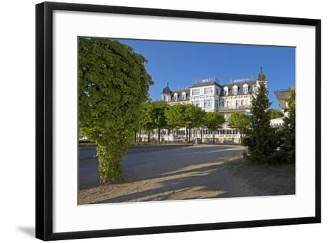 Germany, Western Pomerania, Island Usedom, Seaside Resort Ahlbeck, Luxury Hotel Ahlbecker Hof-Chris Seba-Framed Art Print