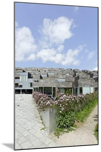 Modern Architecture, Home Construction, Orestad, Island Amager, Copenhagen, Denmark, Scandinavia-Axel Schmies-Mounted Photographic Print
