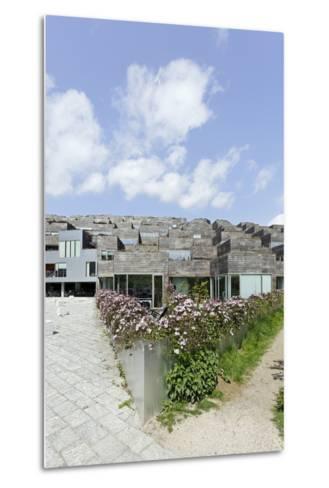 Modern Architecture, Home Construction, Orestad, Island Amager, Copenhagen, Denmark, Scandinavia-Axel Schmies-Metal Print