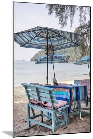 Piece of Furniture, Brightly, Runable Aground, Thailand, Beach-Andrea Haase-Mounted Photographic Print