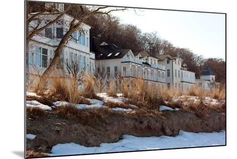 The Baltic Sea, RŸgen, Beach Promenade Binz, Winter-Catharina Lux-Mounted Photographic Print
