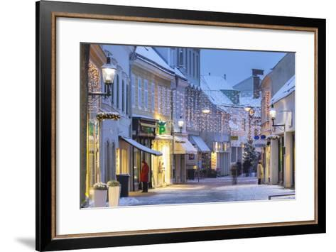 Wassergasse, Baden Bei Wien, Lower Austria, Austria-Rainer Mirau-Framed Art Print