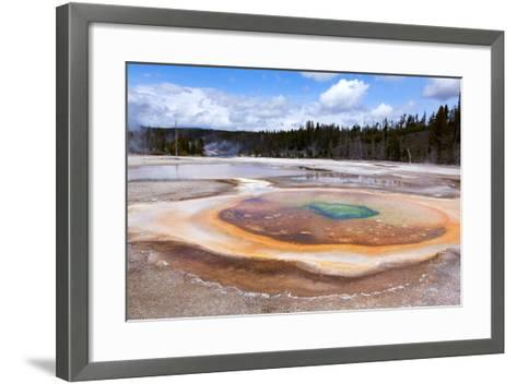 USA, Yellowstone National Park, Geyser Hill-Catharina Lux-Framed Art Print