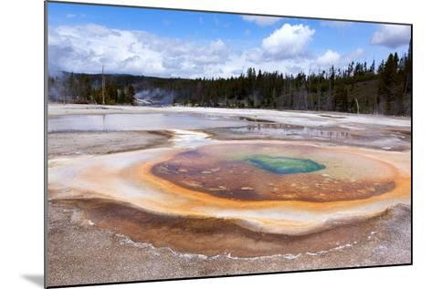 USA, Yellowstone National Park, Geyser Hill-Catharina Lux-Mounted Photographic Print