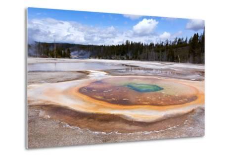 USA, Yellowstone National Park, Geyser Hill-Catharina Lux-Metal Print