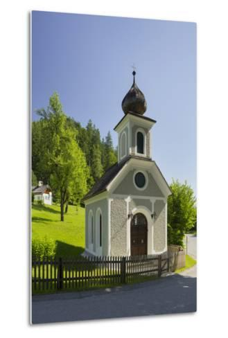 Chapel Near Gstatt Castle, ?blarn, Ennstal, Styria, Austria-Rainer Mirau-Metal Print