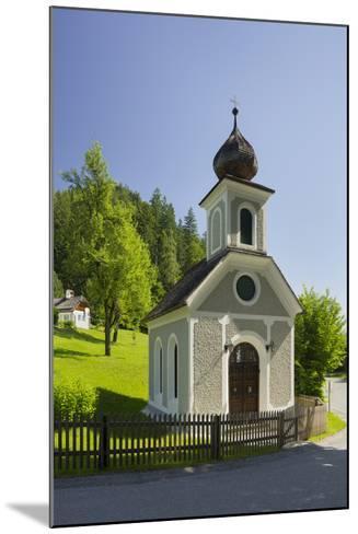 Chapel Near Gstatt Castle, ?blarn, Ennstal, Styria, Austria-Rainer Mirau-Mounted Photographic Print