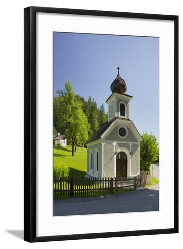 Chapel Near Gstatt Castle, ?blarn, Ennstal, Styria, Austria-Rainer Mirau-Framed Art Print