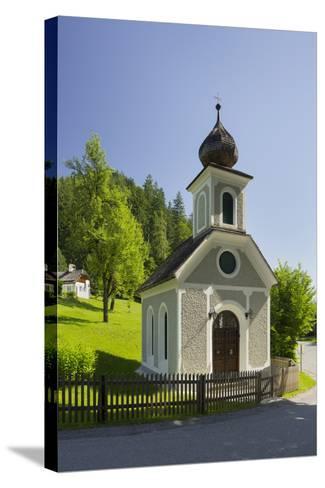 Chapel Near Gstatt Castle, ?blarn, Ennstal, Styria, Austria-Rainer Mirau-Stretched Canvas Print