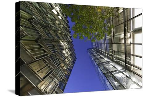 Modern Architecture, Office Buildings on the South Shore of the Thames, Bermondsey, London, England-Axel Schmies-Stretched Canvas Print