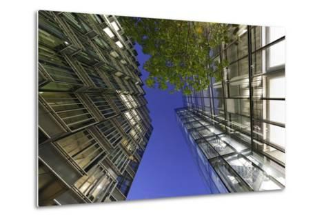 Modern Architecture, Office Buildings on the South Shore of the Thames, Bermondsey, London, England-Axel Schmies-Metal Print