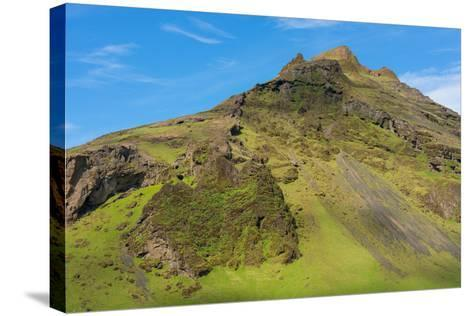 At the Skogafoss-Catharina Lux-Stretched Canvas Print